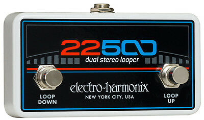 EHX Electro Harmonix 22500 Dual Stereo Looper Foot Controller,New