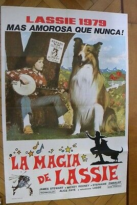 Movie Poster Original The Magic Of Lassie 1979 Mickey Rooney