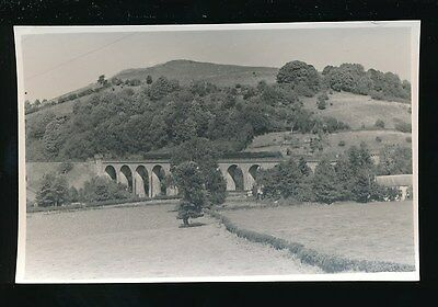 Wales Radnorshire KNIGHTON Viaduct Judges Proof #467 1950/60s photo