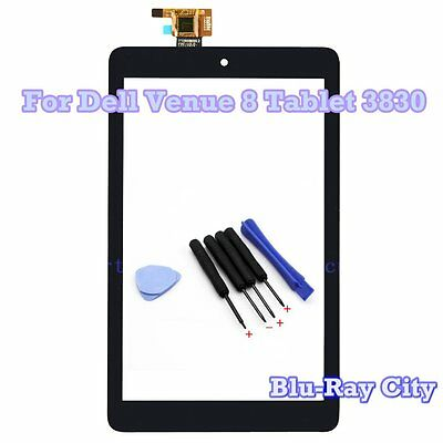 """8"""" Touch Screen Digitizer Front Glass Replacement For Dell Venue 8 Tablet 3830"""