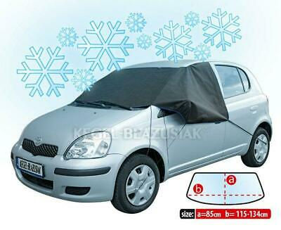 Car Vehicle ANTI_FROST COVER for windscreen windshield WINTER PLUS black