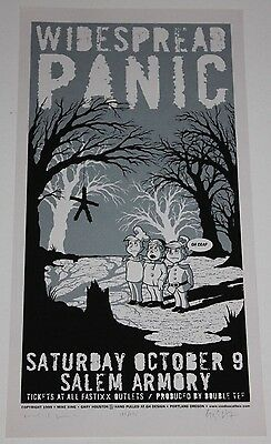 epic Widespread Panic Concert Poster signed numbered AOMR 1999 Rice Krispies