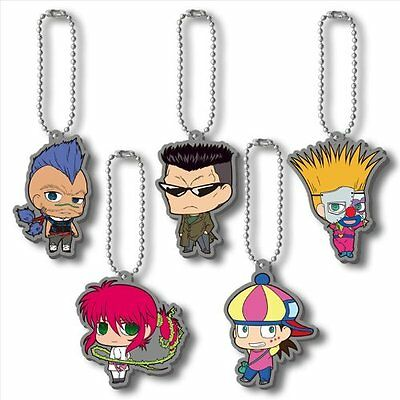 Yu Yu Hakusho Rubber Mascot Key Chain vol.3 BOX Japan