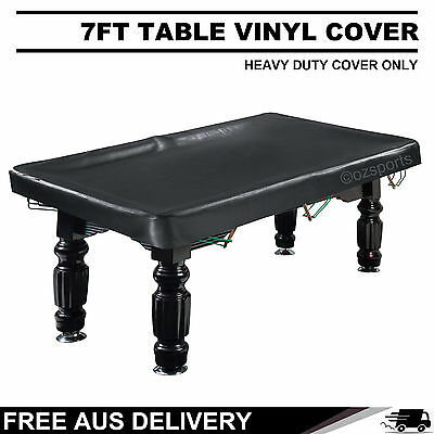 7Ft Heavy Duty  Pool Snooker Vinyl Table Cover Free Delivery