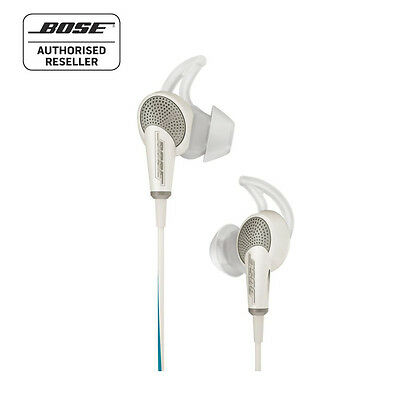 BOSE QC20 Noise Cancelling Headphones - Made for Samsung Devices WHITE