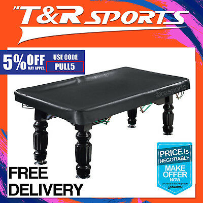 8Ft Heavy Duty Pool Snooker Vinyl Table Cover Free Delivery
