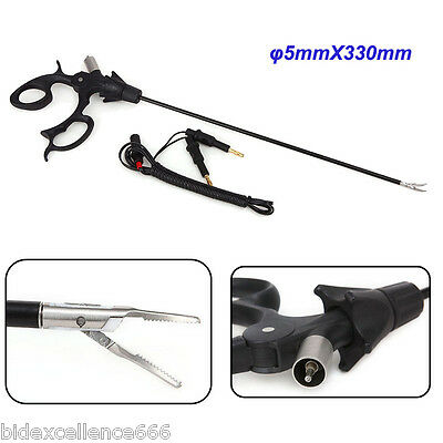 2017 Upgraded Bipolar Dissecting Forceps+ 3M Cable Laparoscopic Instrument