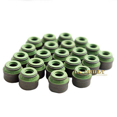 20pcs 6mm Valve Stem Seals Set  for VW Passat AUDI A4 A6 A8 SKODA 2.4 2.8 3.0