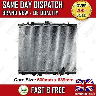 Mitsubishi L200 2.5 Td 2001-2007 Manual Radiator Bt - 50 Pick Up 2 Year Warranty
