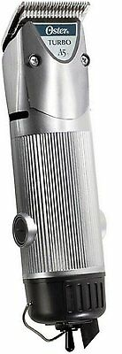 New Silver Oster Turbo A5 2-Speed Professional Animal Dog Trimmer Clipper Limitd