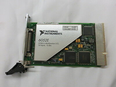 National Instruments NI PXI6052E Multifunction I/O Module New 16 Channel