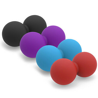 Peanut Shape Lacrosse Ball For Trigger Point Massage Physical Therapy