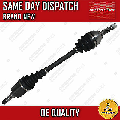 Fiat Scudo Mk2 Mpv, Van Driveshaft + Cv Joint Passanger/near Side 2007>On *new*