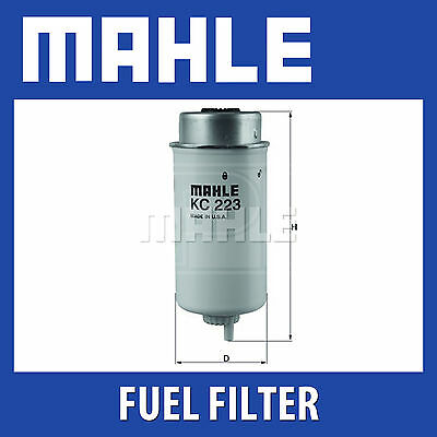 Mahle Fuel Filter KC223 - Fits Ford Transit 06 on - Genuine Part