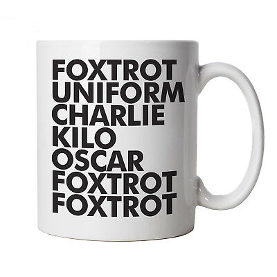 FOXTROT Funny Mug - Gift for Dad Fathers Day Birthday