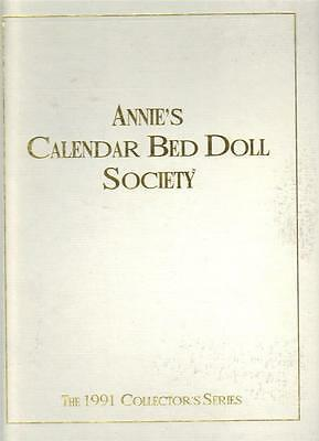 ~Annie's Calendar Bed Doll Society 1991 Antebellum Collection 12 Patterns~