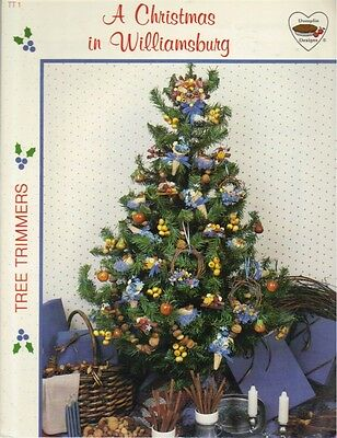 ~Tree Trimmers A Christmas in Williamsburg Leaflet~
