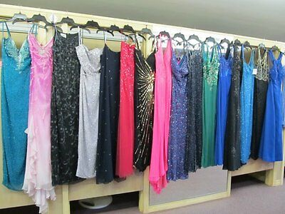 25Pc Beaded Dress Lot Sizes 8-10-12*name Brand Designers*prom-Pageant-Formal