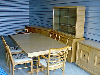 Mid Century Modern Furniture 10 Pc. Dining Room Set