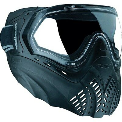 New Valken Identity Thermal Paintball Goggles Mask - Black