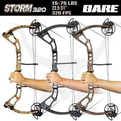 BARE 15-75 Lbs Storm320 Compound Bow for Archery Hunting