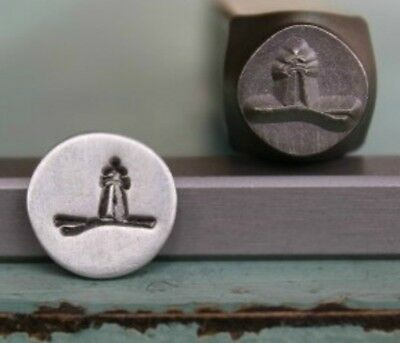 SUPPLY GUY 8mm Lighthouse Metal Punch Design Stamp (SGCH-20)