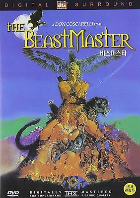 THE BEASTMASTER (1982) -Mark Singer PAL ALL REGION NEW SEALED UK COMPATIBLE DVD
