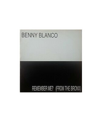 "[CC02685] Benny Blanco / Northern Connexion ""Remember Me? (From The Bronx)""  - 1"