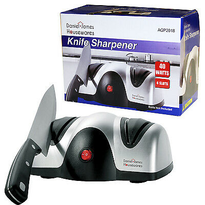 Knife Sharpener Electric Professional Razor Honer 2 Stage Grinder Sharpen Knives