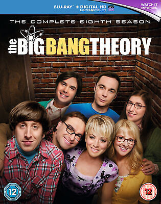 The Big Bang Theory – Season 8 [2015] (Blu-ray)