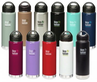 Klean Kanteen 20oz Wide Insulated mit Loop Cap 592ml Thermosflasche Trinkflasche