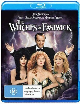 THE WITCHES OF EASTWICK (Cher)   -  Blu Ray - Sealed Region B