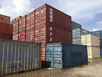 20 Foot Shipping Storage Container Miami Florida