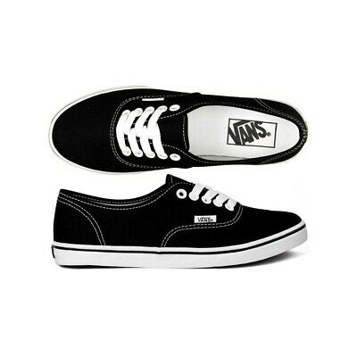 Vans Authentic Lo Pro Black/white Canvas Shoes Australian Seller Free Postage