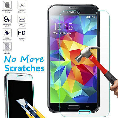 Premium Ultra Clear Real Temper Glass Screen Protector For Samsung Galaxy Phones
