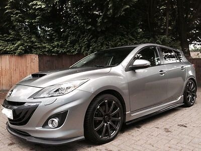 MK2 Mazda 3 MPS Turbo 5dr MS Style Aero Kit - Front Lip, Rear Lip, Side skirts