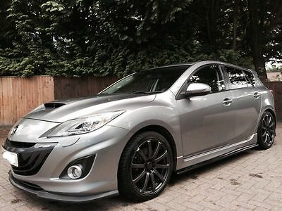 MK2 Mazda 3 MPS Turbo 5dr MS Style Aero Kit - Front Lip, Rear Lip,Side diffusers