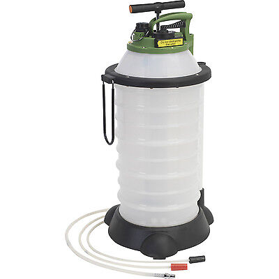 Sealey 18L Vacuum Oil & Fluid Extractor & Discharge