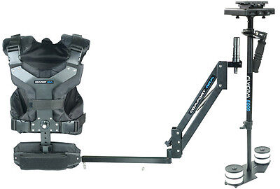 Flycam 5000 Steadycam + Comfort Arm And Vest + Quick Release + Carrybag