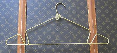 Beautiful French Company Vintage Large Gold Metal Luggage Hanger 1 Piece