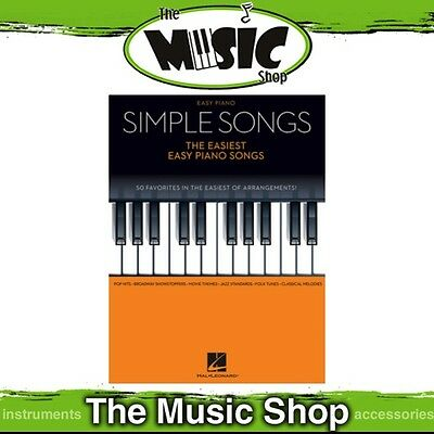 New Simple Songs: The Easiest Piano Songs Music Book for Easy Piano Solo