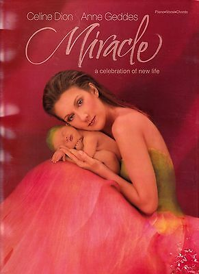 Celine Dion Rare Miracle Songbook 71 Pages