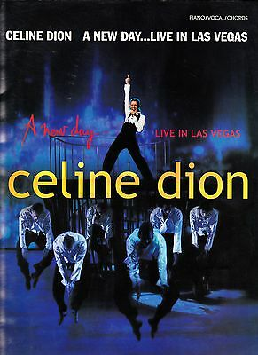 Celine Dion Rare A New Day Live In Las Vegas Songbook 96 Pages