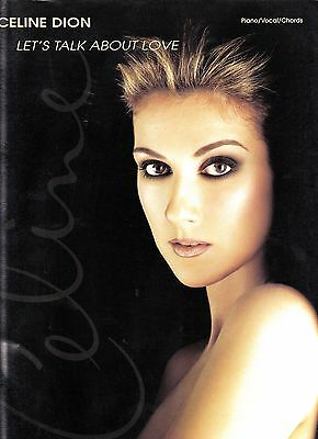 Celine Dion Rare Lets Talk About Love Song Book 92 Pages