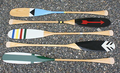 Glacier Wear Multi-Color Nautical Paddle, Canoe Paddle, Hand Painted Paddle