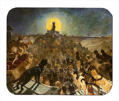 Item#1754 The Land of the Cats Art Mouse Pad