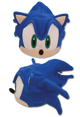 New Officially Licensed (GE-2331) Classic Sonic the Hedghog Fleece Cosplay Cap