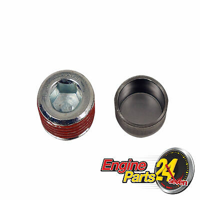 Holden 6 149 161 173 179 186 202 2.85L 3.3L Oil Gallery Plug Set