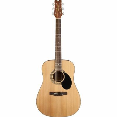 New Jasmine by Takamine S35 Dreadnought Acoustic Guitar, Natural