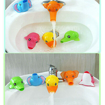 Extender Faucet For Toddler Washing Hands Bathroom Water Guide Device